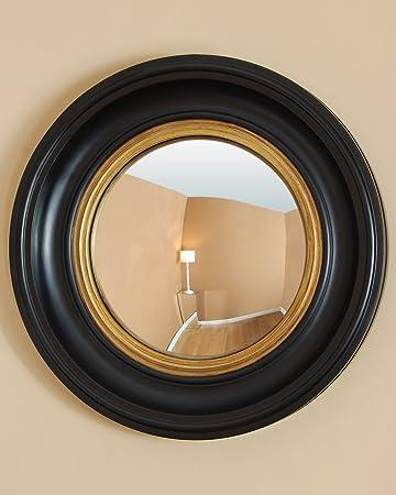 C M Coleridge Kleiner Runder Gewölbter Spiegel 40 X
