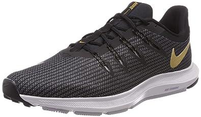 promo code 767ee 516ae Nike WMNS Quest, Chaussures de Running Femme, Multicolore (BlackMetallic  Gold-