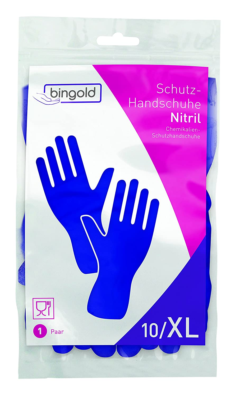 bingold 541004/Guantes de nitrilo higi/énicas color azul