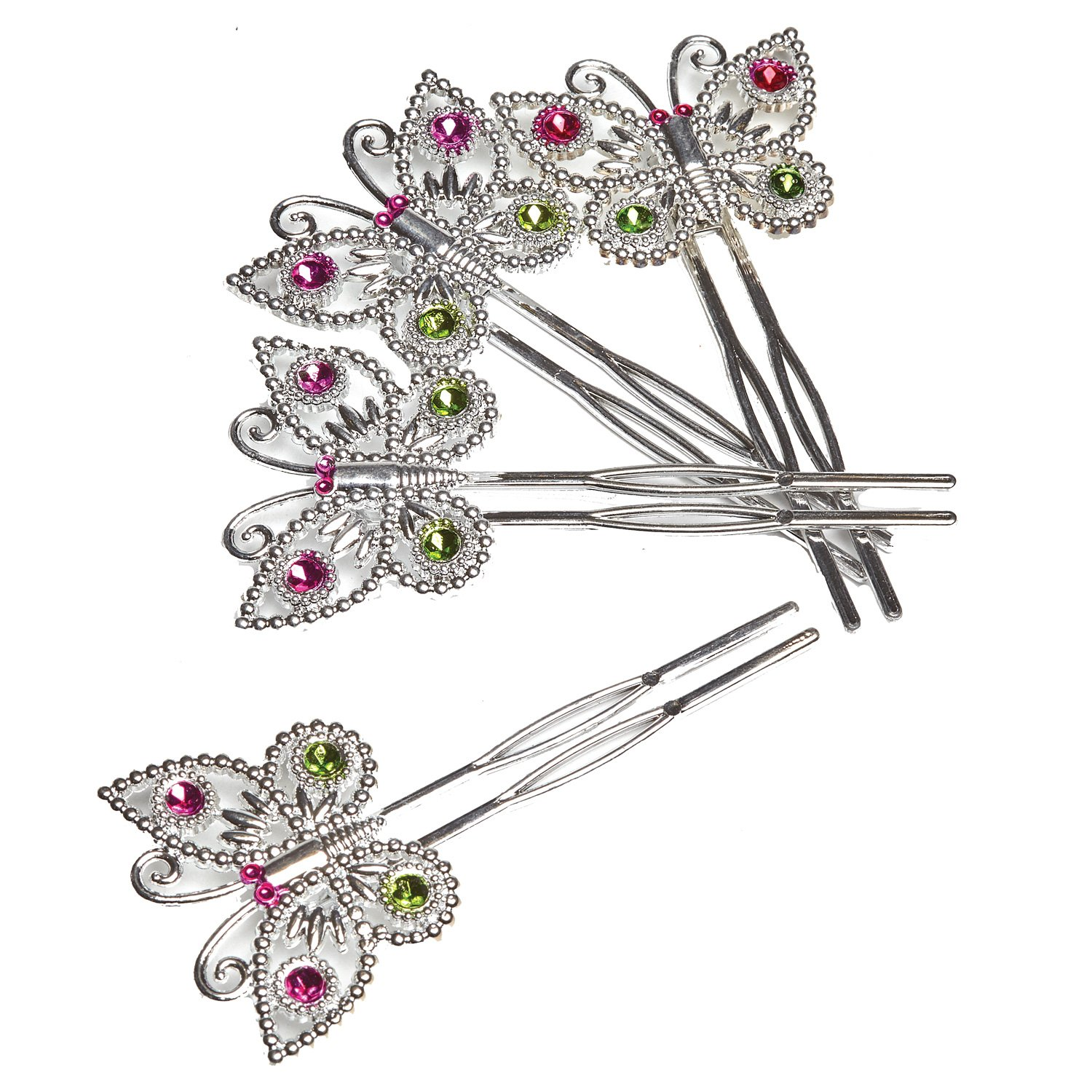 Amscan Box of 152 Butterfly Hair Pins Party Favours/Fillers by Amscan