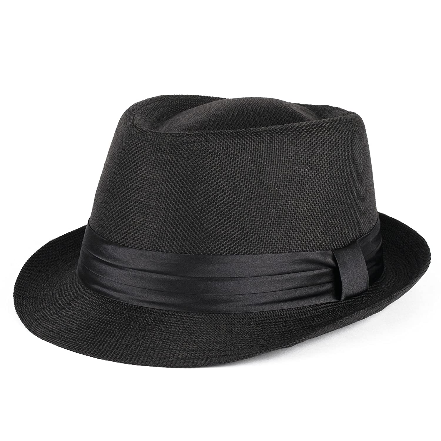 Trilby Hat with Satin Black Band