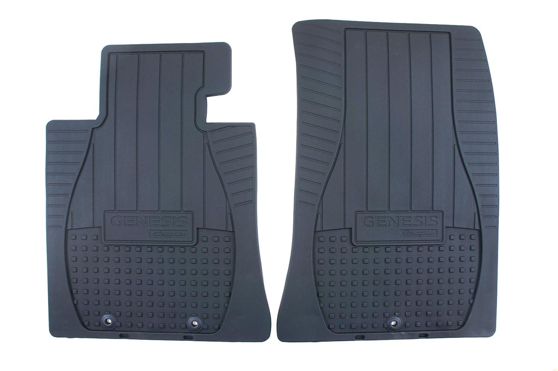 Genuine Hyundai Accessories U8130-2M100 Front All Weather Floor Mat for Hyundai Genesis Coupe