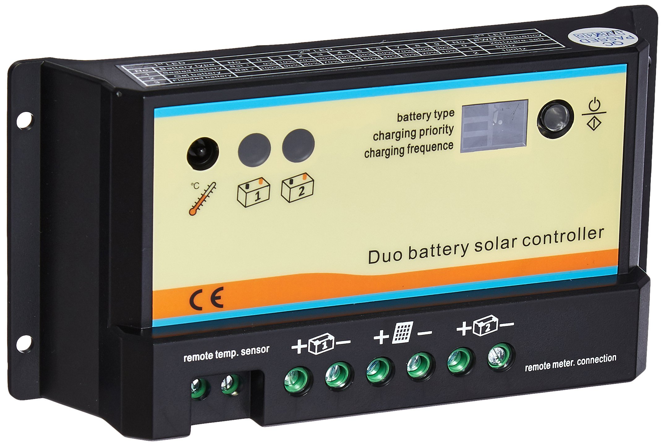 Renogy PWM Dual Battery Charge Controller by Renogy