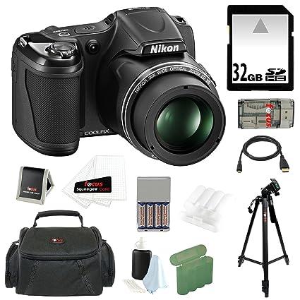 amazon com nikon coolpix l820 16mp digital camera 30x optical