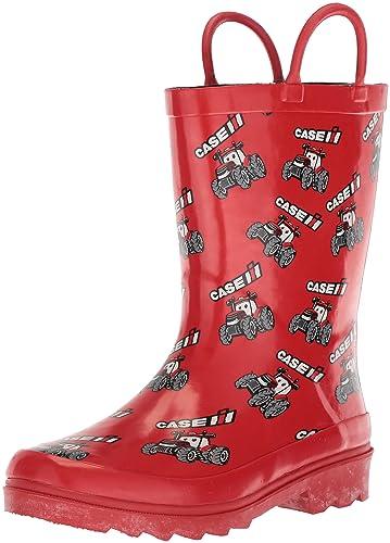 AdTec Unisex CI-4001 Rain Boot, red, 1 Medium US Little Kid
