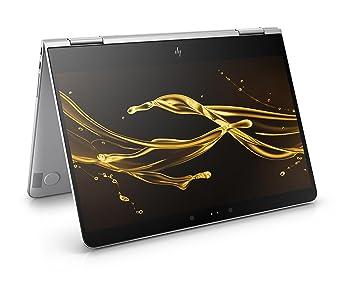 HP Spectre x360 (13-ac000ng) Convertible Ultrabook (13,3 Zoll / Full HD Touchscreen) 33,8 cm, silber