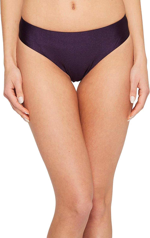7d6cce6847792 Becca by Rebecca Virtue Women's Shimmer Reversible Hipster Bikini Bottom