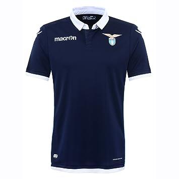 72e73e1a1efe4 S.S. Lazio Macron® Official Original Home Football Shirt (Short Sleeve)  Classic without Sponsor Advert Unisex Merchandise Fan Jersey (Official  Authentic ...