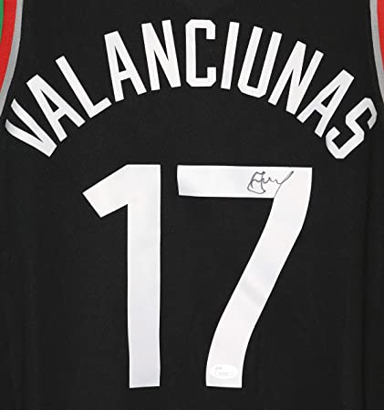 cba5247ef2b Image Unavailable. Image not available for. Color: Jonas Valanciunas  Toronto Raptors ...