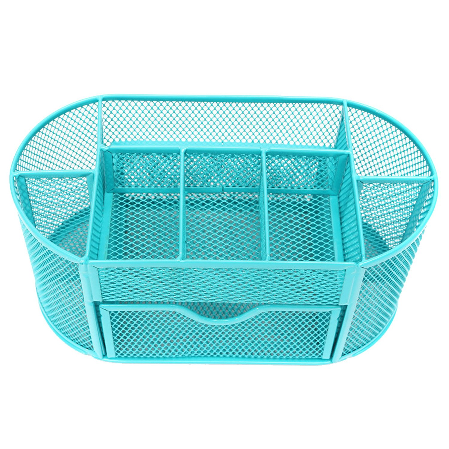 Amazon.com: Metal Mesh Storage Box Simple and Elegant 9 Cell Jewelry ...