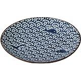 西海陶器 The Porcelains 波にクジラ 小皿 12044