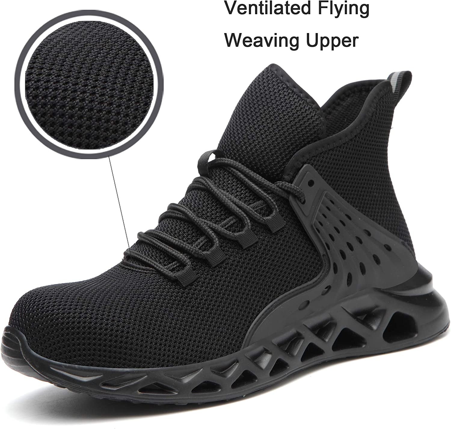 RAYDLINX Work Steel Toe Safety Shoes