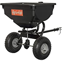 Agri-Fab 85 lb. Tow Broadcast Spreader 45-0530 85 lb. Tow Broadcast Spreader, One Size, Black