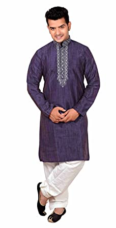 24337ec7e004 Men's Indian fancy smart Sherwani Kurta shalwar kameez Pyjama party wear  set 822 (36 (