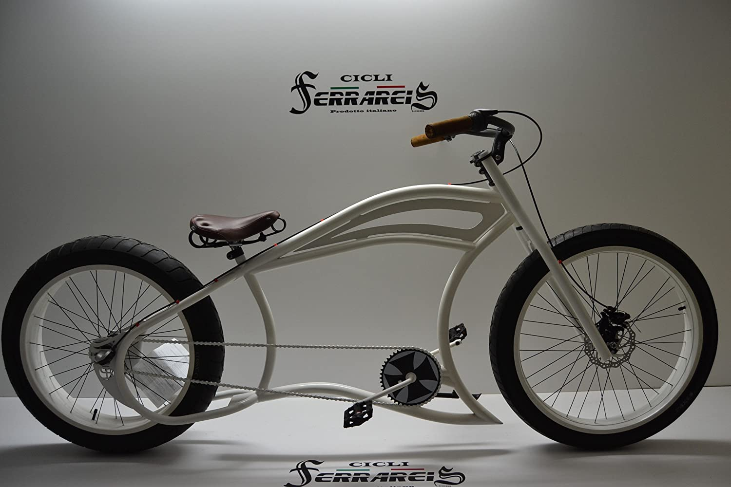 Cicli Ferrareis Fat Bike Cruiser Custom Garage: Amazon.es ...