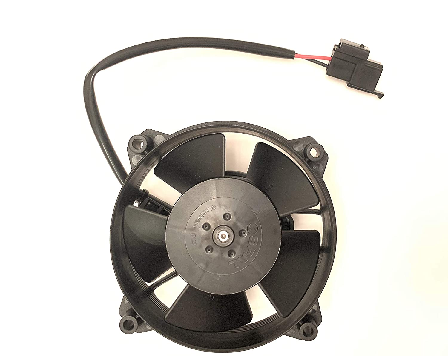 SPAL 30103018 4'' 12 Volt Puller Low Profile Fan