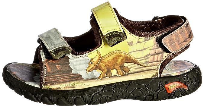 Dinosoles Jungen Sandalen, Braun - Hellbraun - Größe: 3_Child_UK