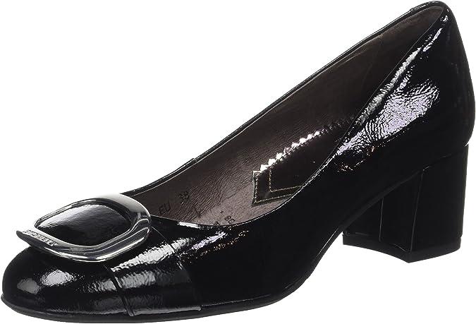 TALLA 36 EU. Stonefly Leslie 1 Naplack, Zapatos con Plataforma para Mujer