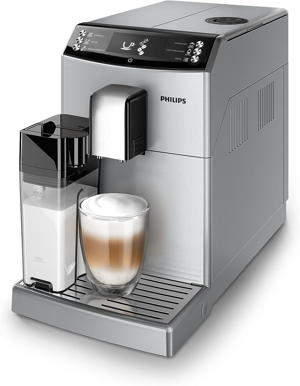 Philips 3100 series - Cafetera (Independiente, Máquina espresso, 1,8 L, Granos de café, Molinillo integrado, Plata): Amazon.es: Hogar