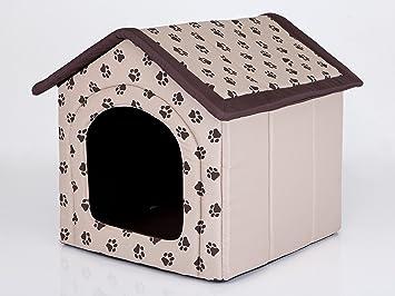 Hobbydog - Casa para Perro, tamaño 4, Color Beige con Patas: Amazon.es: Productos para mascotas