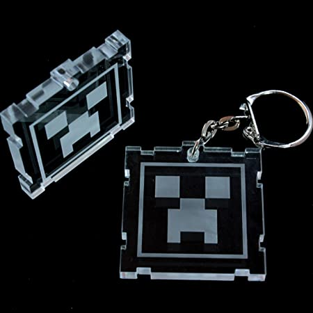 Minecraft Creeper Monster Mob Keyring Great Stocking