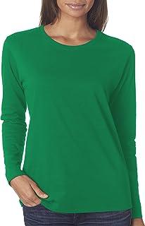 89b6a81e55e33 Gildan G540L Ladies 5.3 oz. Heavy Cotton Missy Fit Long-Sleeve T-Shirt