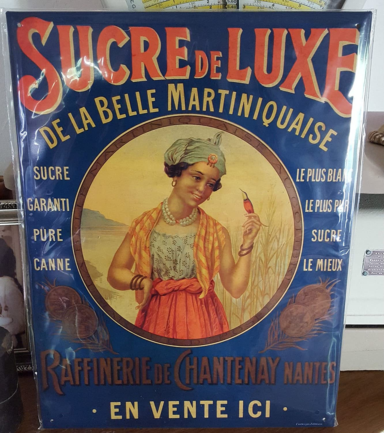 Amazon.com: FRENCH VINTAGE METAL SIGN 40X30cm RETRO AD ...