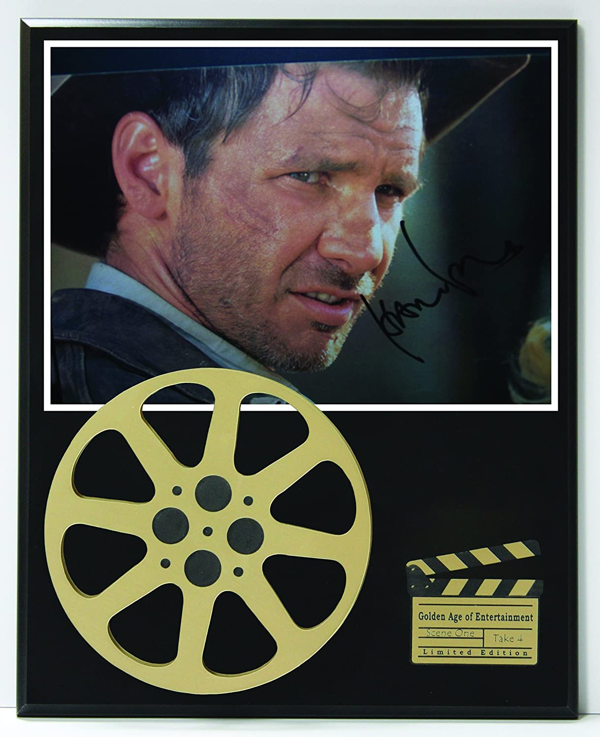 Harrison Ford Limited Edition Reproduction Autographed Movie Reel