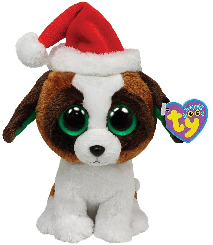 Amazon.com: TY Beanie Boos Presents – Perro de peluche con ...