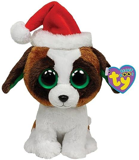 Amazon.com  Ty Beanie Boos Presents - Dog with Hat  Toys   Games 04b1ddd82d1