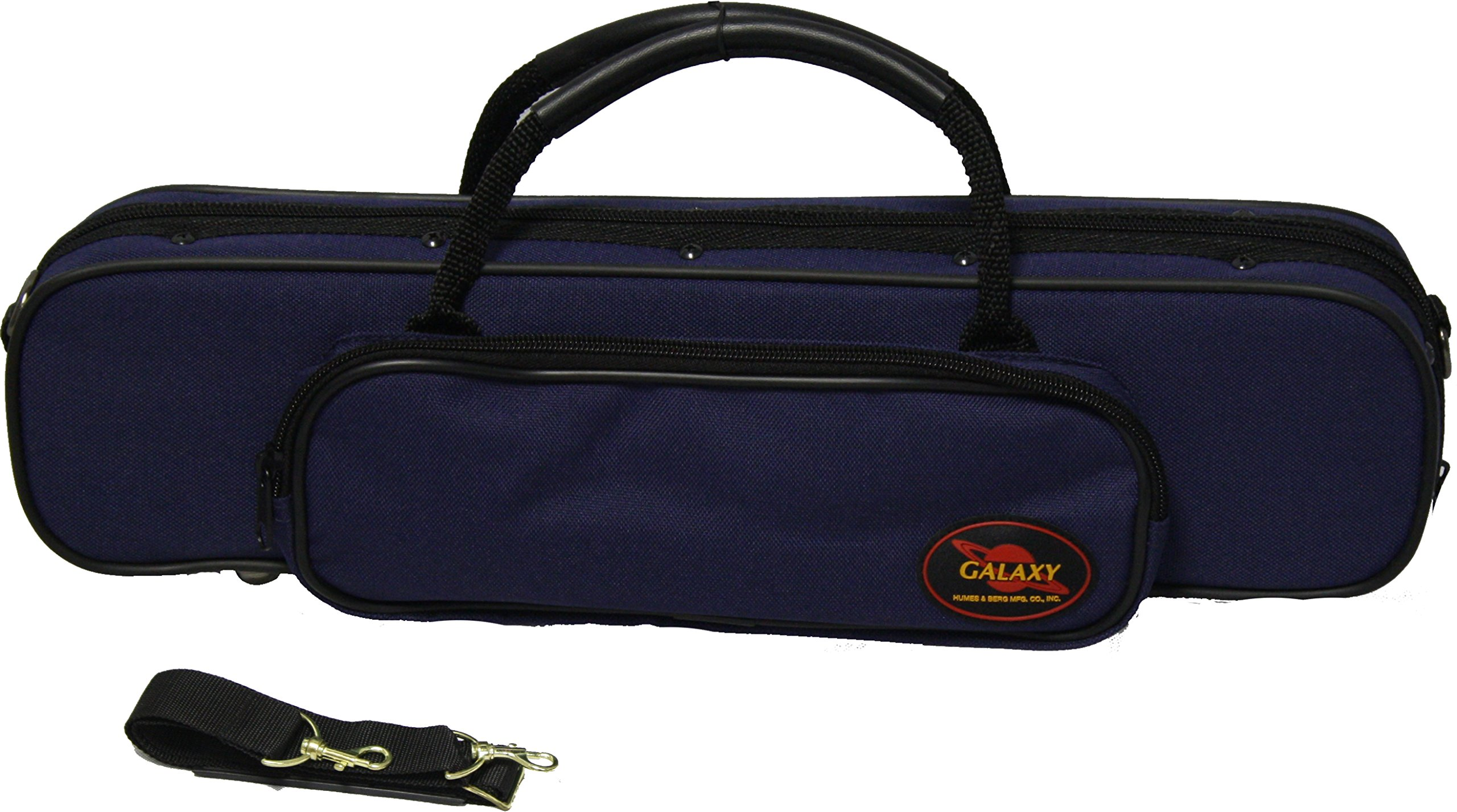 Humes & Berg Galaxy Flute Case With Piccolo Pocket GL1450BL Blue