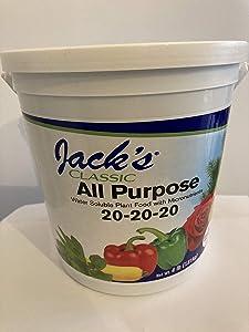 Jack's Classic All Purpose 20-20-20 Plant Food 4 lb