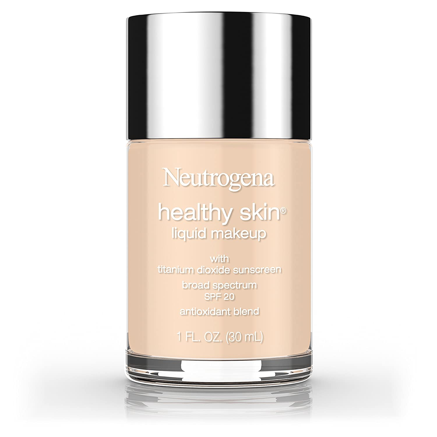 Neutrogena Healthy Skin Liquid Makeup Foundation, Broad Spectrum Spf 20, 70 Fresh Beige, 1 Oz. Neutrogena Cosmetics 686700700