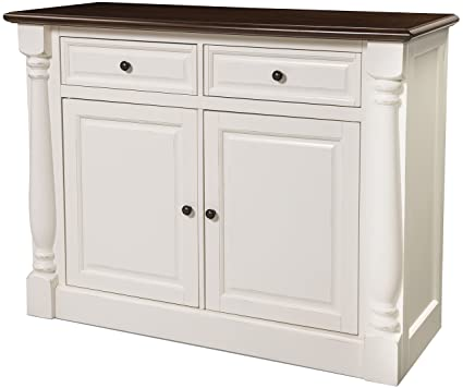 Crosley Furniture CF4206 WH Shelby Buffet   White