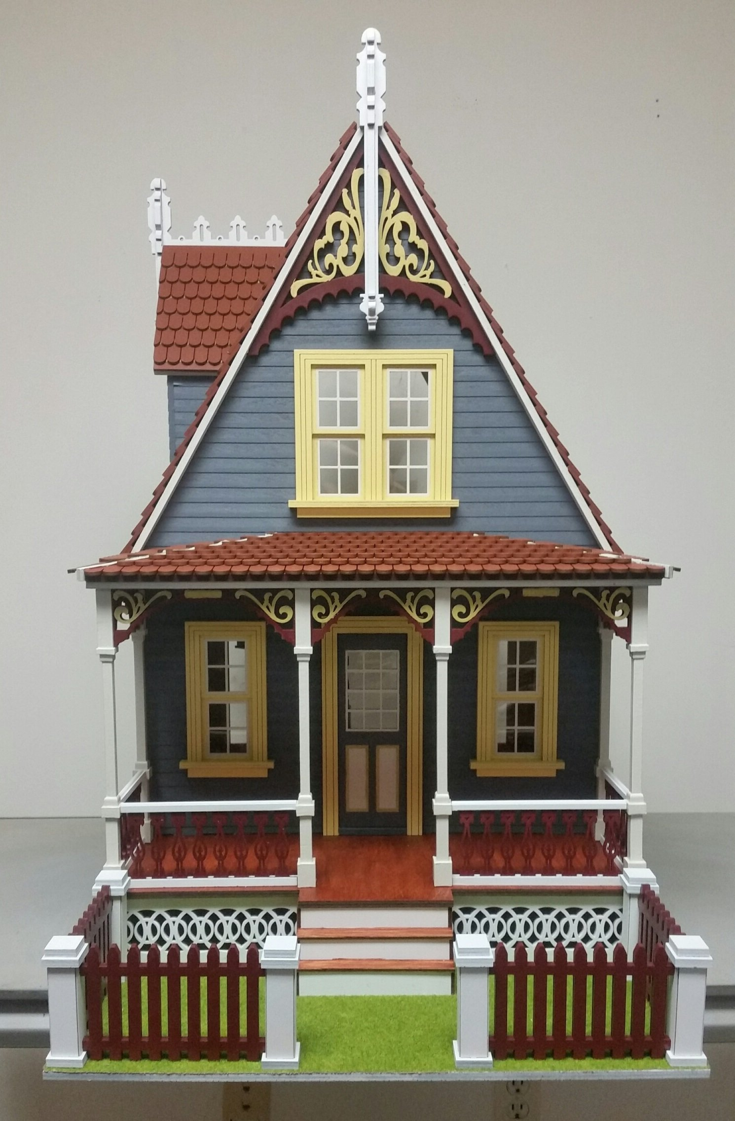 Melody Jane Dollhouse Little Annabelle Cottage 1:12 Lazer Cut Flat Pack Kit