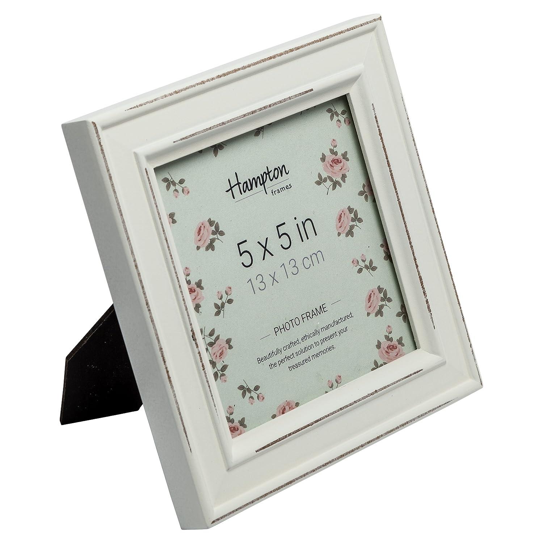 Amazon.de: Hampton Frames PAL301955W Bilderrahmen, quadratisch, 13 x ...