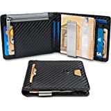 "TRAVANDO ® Wallet Mens with Money Clip ""New York"" RFID Blocking Slim Wallet | Credit Card Holder | Travel Wallet | Minimalist Mini Wallet Bifold for Men with Gift Box"