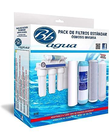 JOYKK 450 CC Filtro de Agua Osmosis inversa Restrictor de Flujo Capilar Inserto de Tubo para Sistema RO Azul Blanco