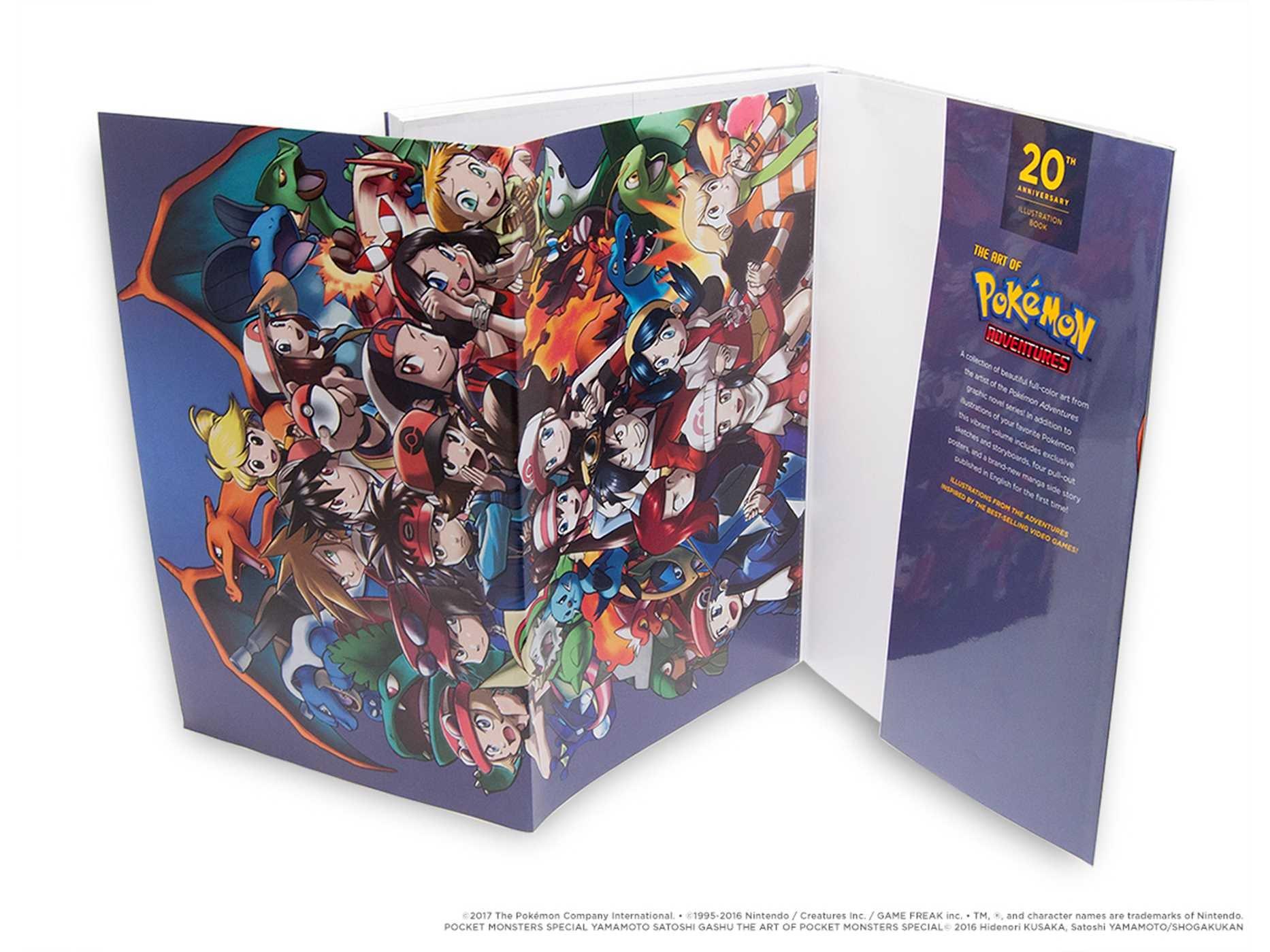 Pokémon Adventures 20th Anniversary Illustration Book: The Art of Pokémon Adventures (Pokemon) by VIZ (Image #5)