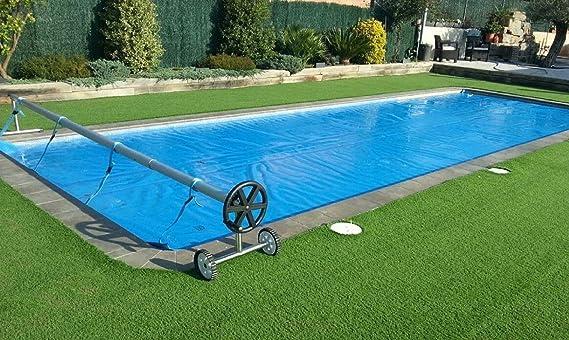 International Cover Pool Cubierta Piscina Verano GeoBubble 500 micras para Piscinas de 4x10 Metros (con Refuerzo en Todo el Contorno).: Amazon.es: Jardín