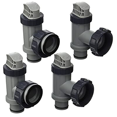 Intex Replacement Plunger Valve Plunging Assembly 10747-4 Pack : Garden & Outdoor