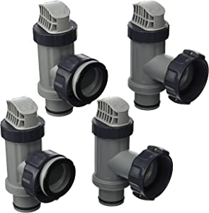 Intex Replacement Plunger Valve Plunging Assembly 10747-4 Pack