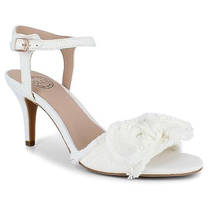 6f462fd258b Dolce by Mojo Moxy Women s Kitten Heel Sandals Shoes
