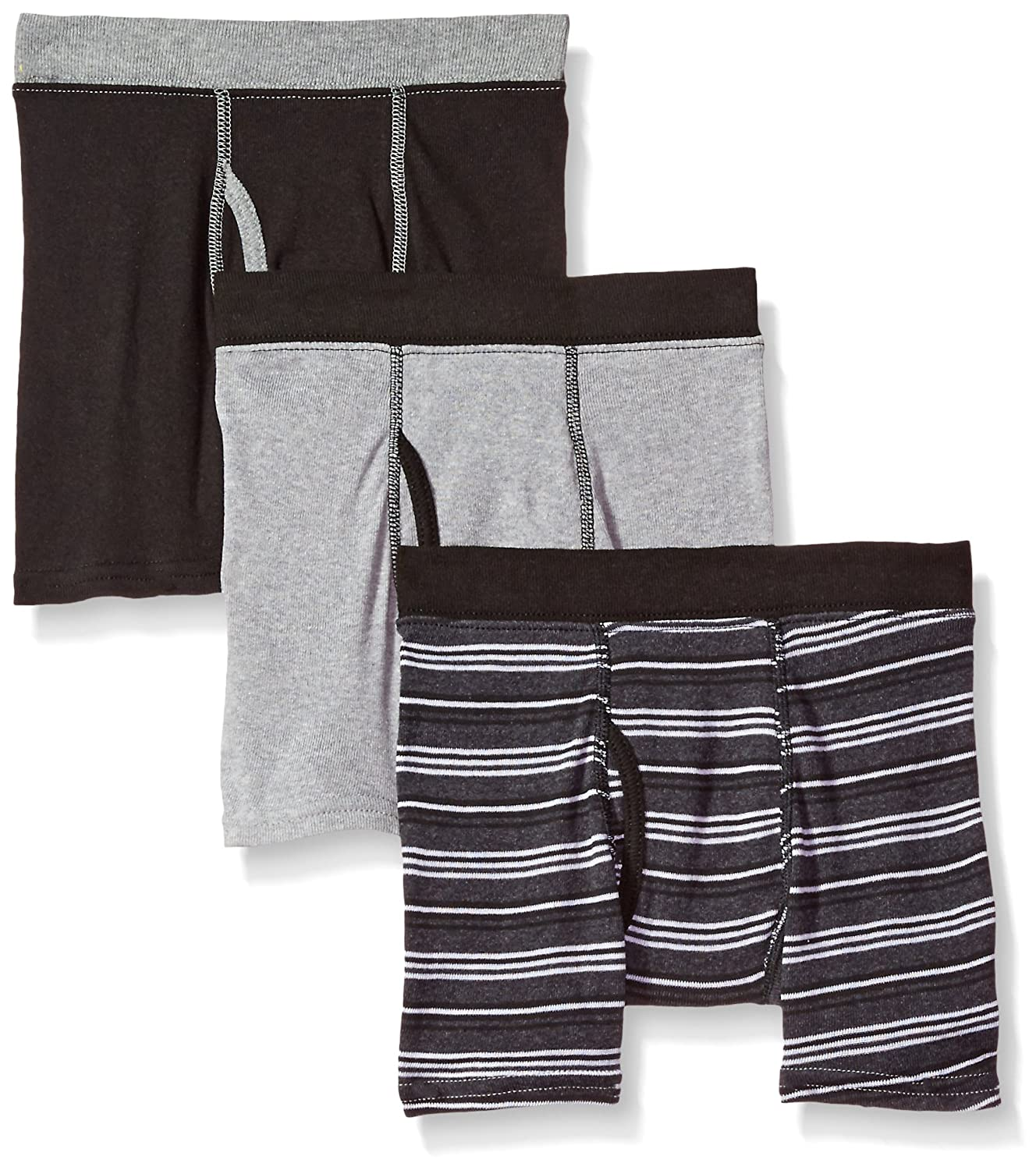 Hanes Big Boy's ComfortSoft 3 Pack Boxer Brief M755GT