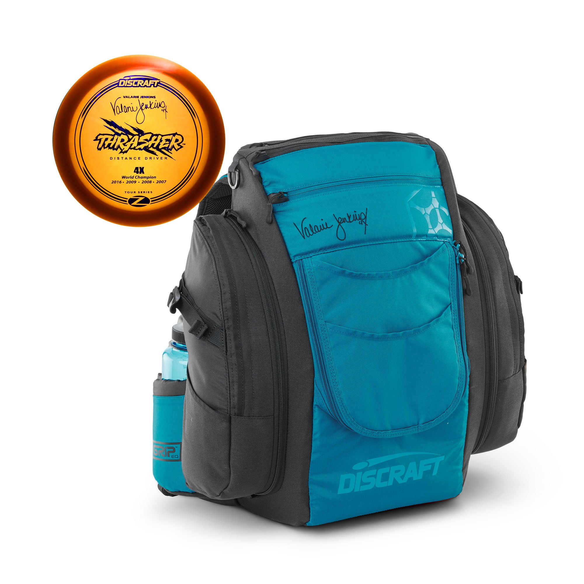 Discraft Valarie Jenkins Signature Disc Golf Bag with Bonus Tour Series Disc by Discraft