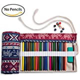 Amazon Price History for:Artify 48 Colored Pencil Roll Up Canvas Wrap Pouch Holder Burgundy Elephant Print| Anti-Pilling Design and Thick Canvas| Environmental-Friendly Material( Pencils are not Included)