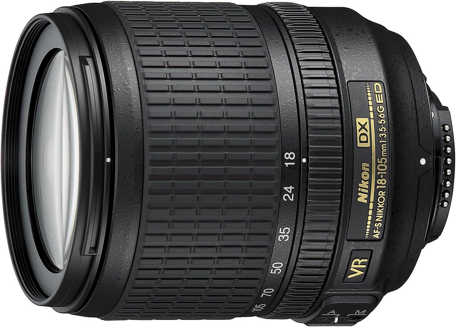Nikon AF-S DX VR 18-105mm G - Objetivo para Montura F de Nikon ...