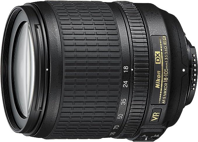 Nikon AF-S DX NIKKOR 18-105mm f/3.5-5.6G ED VR: Amazon.es: Electrónica