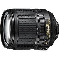 Nikon AF-S DX VR 18-105mm G - Objetivo para Montura F de Nikon (distancia focal 27-157.5mm, apertura f/3.5-5,6, estabilizador) color negro