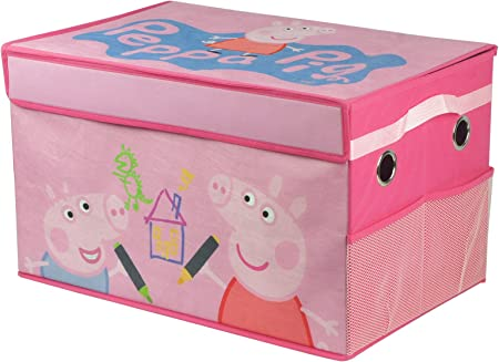 Peppa Pig – Plegable Lienzo Caja de Juguetes: Amazon.es: Juguetes ...